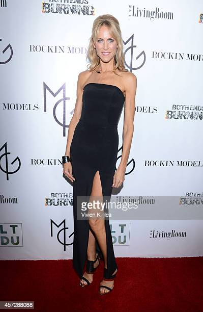 Celebrity Trainer Philanthropist Grace Lazenby attends A Night With Matt Goss at W Hollywood on October 15 2014 in Hollywood California