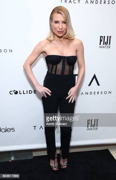 Celebrity trainer Tracy Anderson attends the celebration for the Tracy Anderson 59th Street studio on March 15, 2017 in New York City.