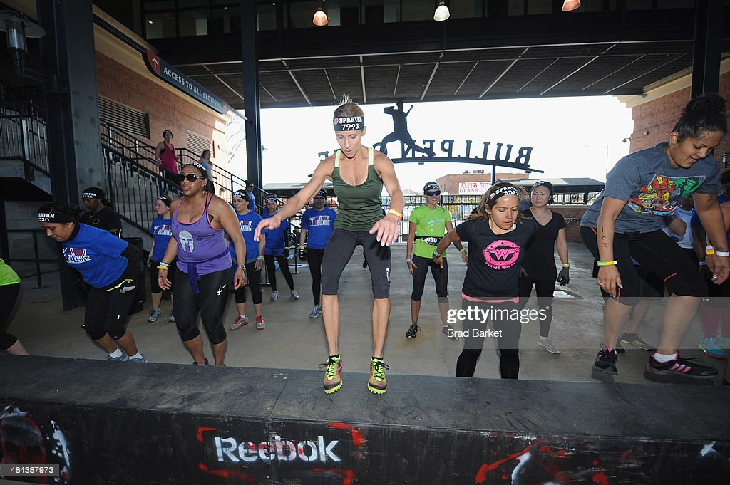 Chris And Heidi Powell Take On Reebok Spartan Race In New York City With New Reebok All-Terrain Series Shoe