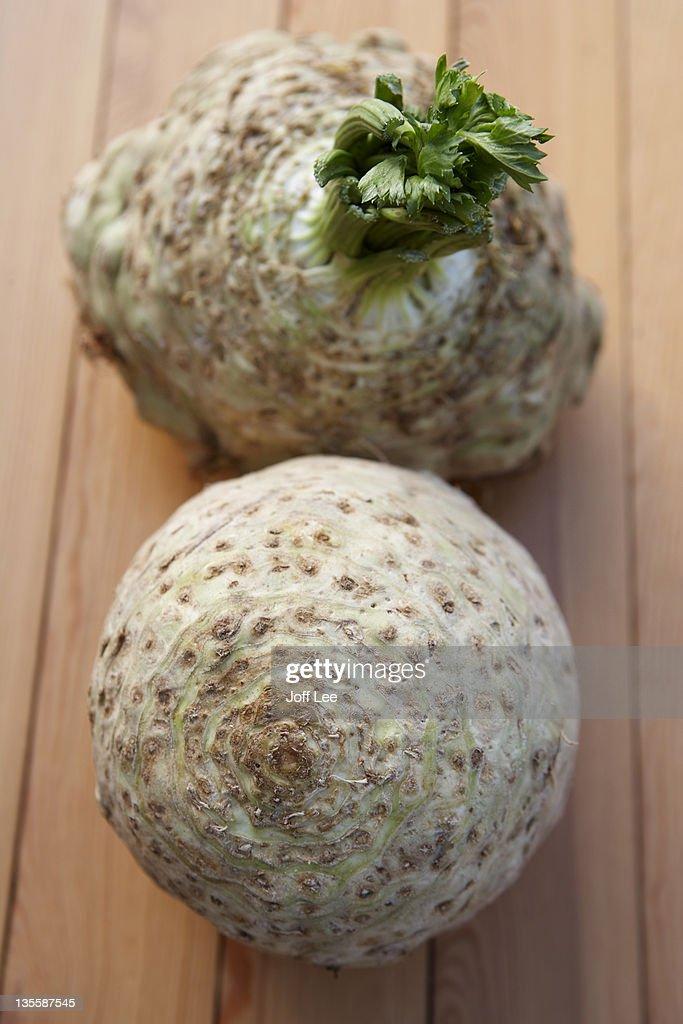 Celeriac : Stock Photo