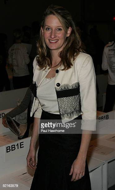 Celerie Kemble attends the Lela Rose Fall 2005 show during Olympus Fashion Week February 9 2005 in New York City