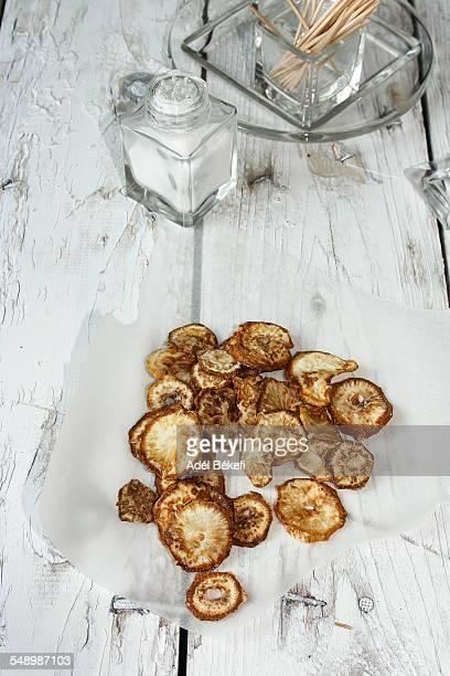 Celery chips