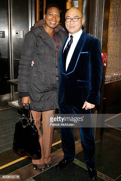 Celeste and David Au attend ERMENEGILDO ZEGNA Store Opening Cocktail Party  For The Robin Hood Foundation 6c4a955c10d