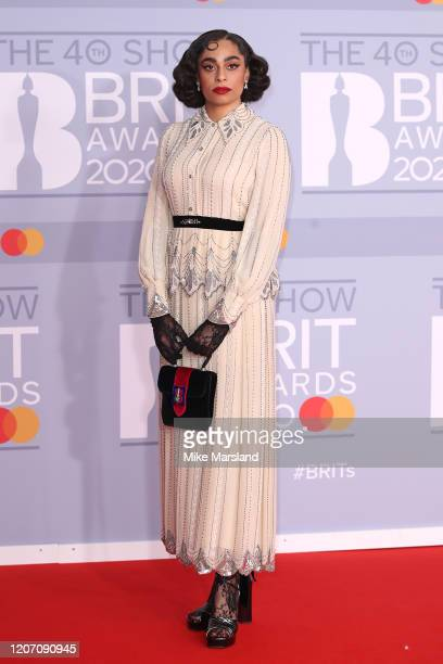 Celeste attends The BRIT Awards 2020 at The O2 Arena on February 18, 2020 in London, England.