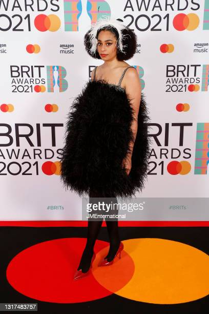 Celeste attends The BRIT Awards 2021 at The O2 Arena on May 11, 2021 in London, England.