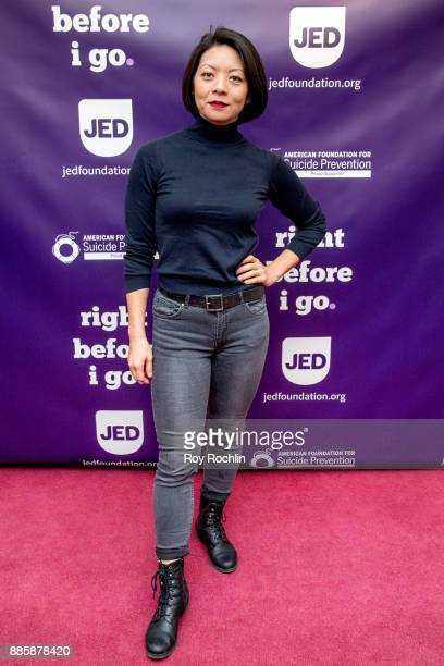 Celeste Den attends the 'Right Before I Go' Benefit performance at Town Hall on December 4 2017 in New York City