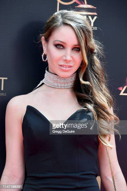 Celeste Fianna attends the 46th annual Daytime Emmy Awards at Pasadena Civic Center on May 05 2019 in Pasadena California
