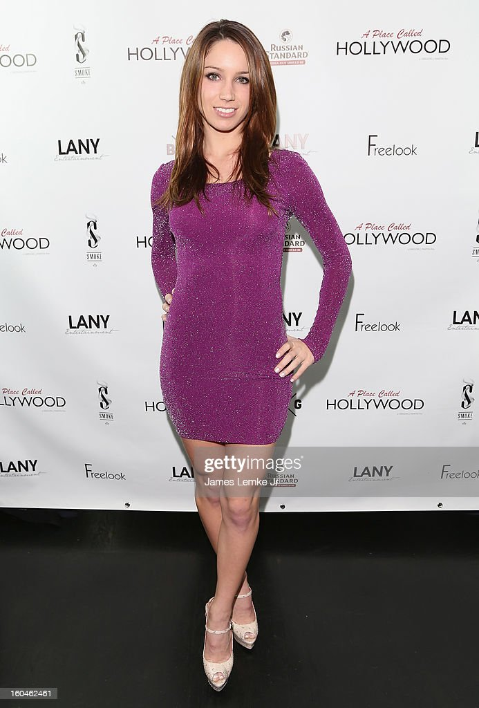 Celeste Fianna attends the 'A Place Called Hollywood' Official Wrap Party held at the Smoke Steakhouse on January 31, 2013 in West Hollywood, California.