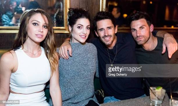 Celeste Fianna Elizabeth Lake Brandon Beemer and Erik Fellows attend the Gregori J Martin Birthday Party at Paloma on May 3 2018 in Los Angeles...