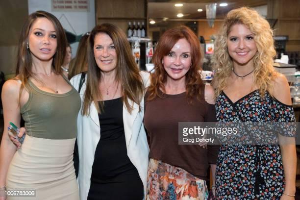 Celeste Fianna Wendy Riche Jacklyn Zeman and Brittany Underwood attend 'The Bay' Cast Host Fan Appreciation Event on July 27 2018 in Glendale...