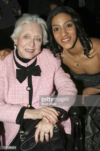 Celeste Holm and Sarah Jones