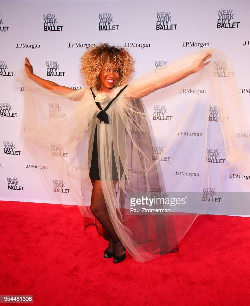Celeste Mathews attends the 2018 New York City Ballet Spring Gala at David H Koch Theater Lincoln Center on May 3 2018 in New York City