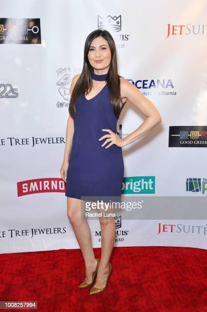 Celeste Thorson attends Boo2Bullying's 4th Annual Take A Bite Out Of Bullying at the Los Angeles LGBT Center on July 26 2018 in Los Angeles California