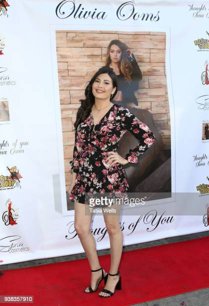 Celeste Thorson attends Olivia Ooms EP Release Party at The Mint on March 25 2018 in Los Angeles California
