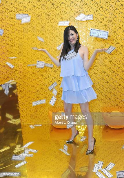 Celeste Thorson attends Partywith Season 2 Media Preview Day held at Westfield Santa Anita on February 1 2019 in Arcadia California