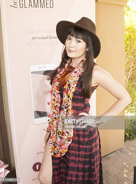 Celeste Thorson attends Pool Party at The Desert Compound Presented by Bullett on April 19 2015 in Bermuda Dunes California