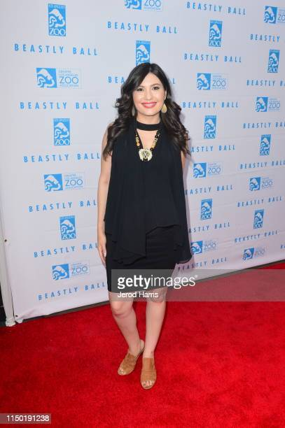 Celeste Thorson attends the Greater Los Angeles Zoo Association's 49th Annual Beastly Ball at Los Angeles Zoo on May 18 2019 in Los Angeles California