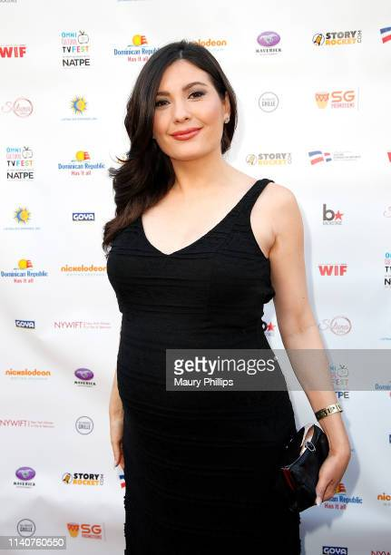 Celeste Thorson attends the Omni Cultural TV Fest VIP Party in partnership with NATPE at the Egyptian Theatre on May 1 2019 in Hollywood California