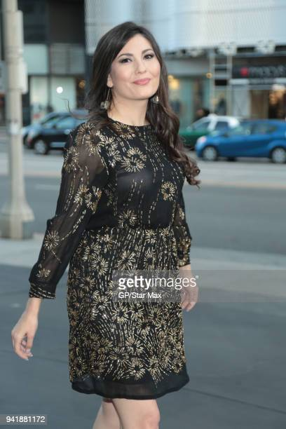 Celeste Thorson is seen on April 3 2018 in Los Angeles CA