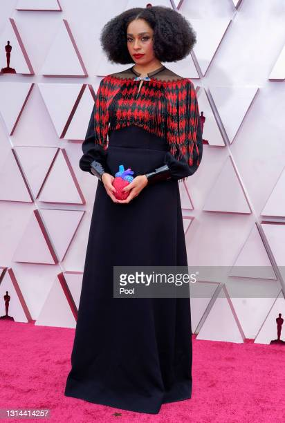 Celeste Waite attends the 93rd Annual Academy Awards at Union Station on April 25, 2021 in Los Angeles, California.