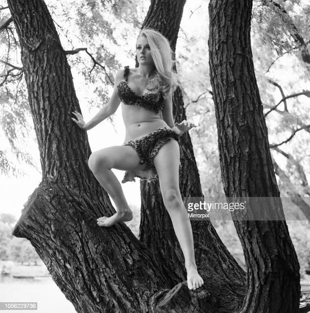 Celeste Yarnall American actress Regents Park London Wednesday 16th August 1967 Celeste Yarnall will be playing the role of a half savage white girl...