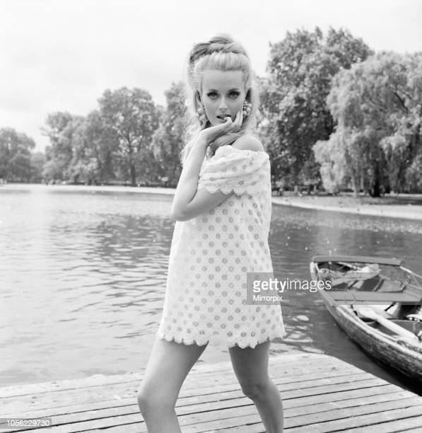 Celeste Yarnall American actress The Boating Lake Regents Park London Wednesday 16th August 1967 Celeste Yarnall will be playing the role of a half...