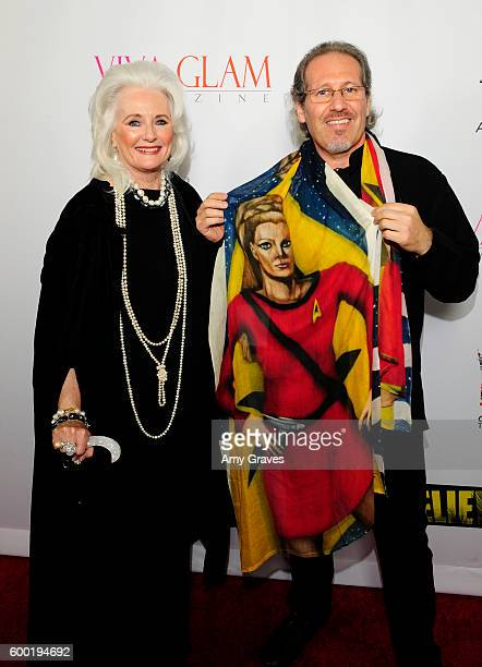 Celeste Yarnall and husband attend the Sneak Peek World Premiere of Unbelievable The Movie at Mann's Chinese Theater on September 7 2016 in Hollywood...