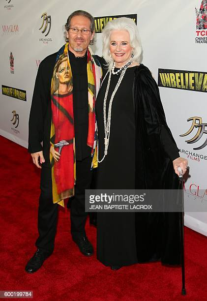 Celeste Yarnall and Nazim Artist attend the World Premiere Screening of 'Unbelievable' A SciFi Adventure Parody in Hollywood California on September...
