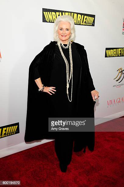 Celeste Yarnall attends the Sneak Peek World Premiere of Unbelievable The Movie at Mann's Chinese Theater on September 7 2016 in Hollywood California