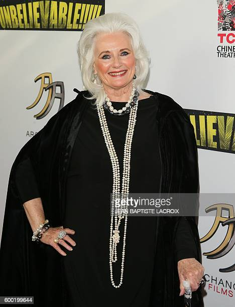 Celeste Yarnall attends the World Premiere Screening of 'Unbelievable' A SciFi Adventure Parody in Hollywood California on September 7 2016 / AFP /...