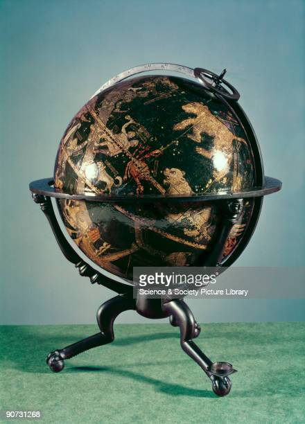 Celestial globe 153335 Made by Johann Schoner in Nuremberg Germany this is the oldest known printed celestial globe in existence An almost identical...