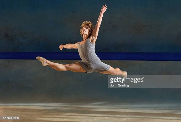 Celestin Boutin as Tadzio performs on stage during a performance of 'Death in Venice' at Garsington Opera at Wormsley on June 18 2015 in High Wycombe...