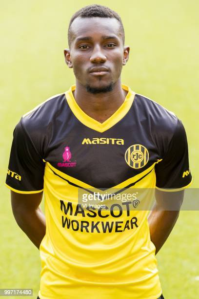 Celestin Djim during the team presentation of Roda jc on July 12 2018 at the Parkstad Limburg stadium in Kerkrade The Netherlands