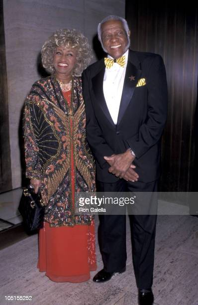 Celia Cruz Husband Pedro Knight during Valentino Party At The Four Seasons Restaurant June 14 2000 at Four Seasons Restaurant in New York City new...