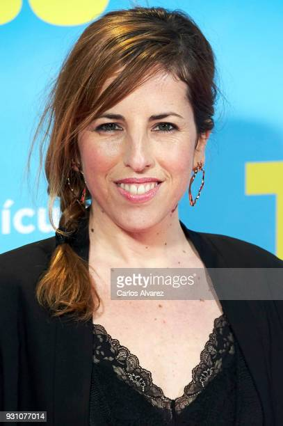 Celia de Molina attends 'La Tribu' premiere at the Capitol cinema on March 12 2018 in Madrid Spain