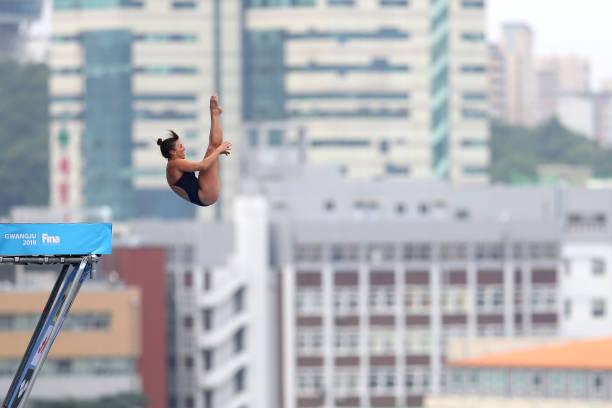 KOR: Gwangju 2019 FINA World Championships: High Diving - Day 1