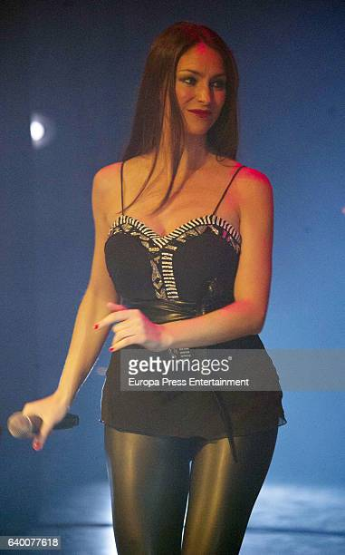 Celia Flores performs during concert '20 years from Marisol to Pepa Flores' at Cervantes Theatre on December 23, 2016 in Malaga, Spain.