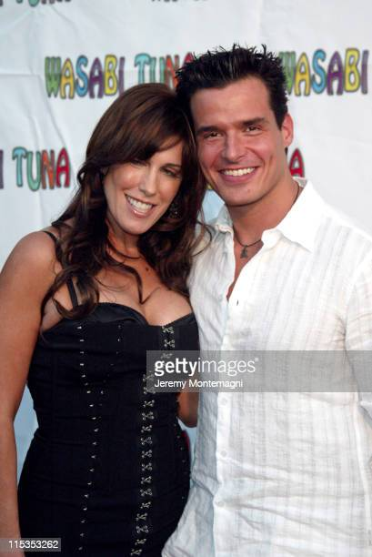 Celia Fox and Antonio Sabato Jr during Wasabi Tuna Los Angeles Premiere at Laemmle Sunset 5 Theatre in Hollywood California United States