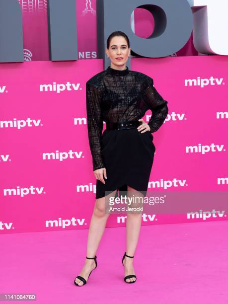 Celia Freijeiro attends day three of the 2nd Canneseries International Series Festival on April 07 2019 in Cannes France