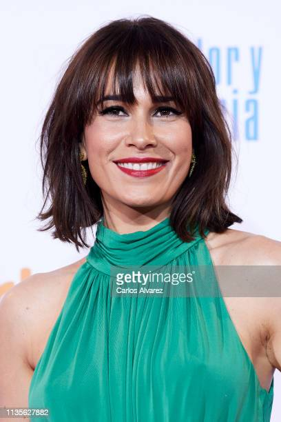 Celia Freijeiro attends 'Dolor y Gloria' premiere at the Capitol cinema on March 13 2019 in Madrid Spain