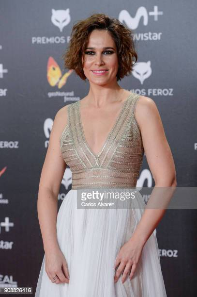 Celia Freijeiro attends Feroz Awards 2018 at Magarinos Complex on January 22 2018 in Madrid Spain