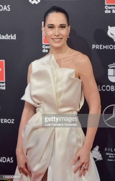 Celia Freijeiro attends Feroz awards 2020 red carpet at Teatro Auditorio Ciudad de Alcobendas on January 16 2020 in Madrid Spain
