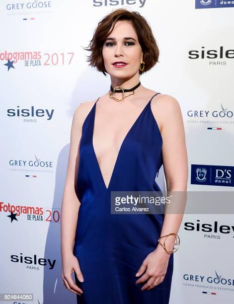 Celia Freijeiro attends 'Fotogramas Awards' at Joy Eslava on February 26 2018 in Madrid Spain