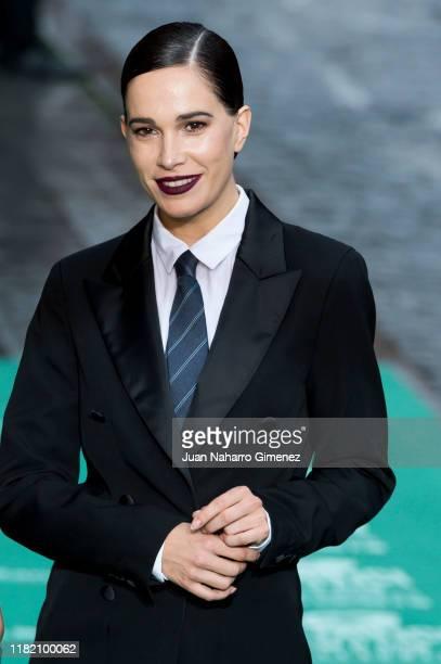 Celia Freijeiro attends 'Intemperie' premiere during 64 Seminci International Film Festival at Teatro Calderon on October 19, 2019 in Valladolid,...