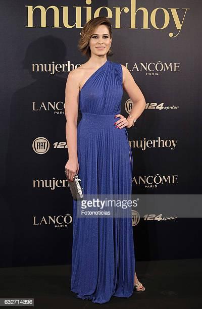 Celia Freijeiro attends the 2016 'Mujer Hoy' awards ceremony at the Casino de Madrid on January 25 2017 in Madrid Spain
