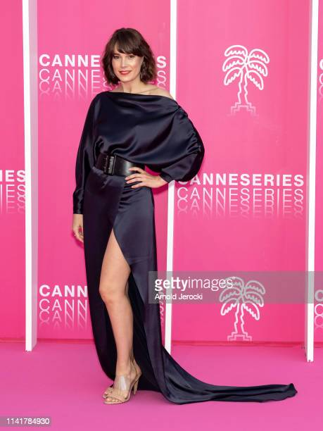 Celia Freijeiro attends the 2nd Canneseries International Series Festival Closing Ceremony on April 10, 2019 in Cannes, France.