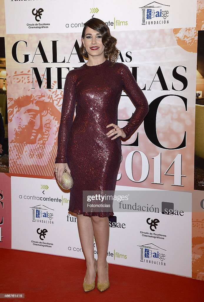 Celia Freijeiro attends the 'CEC' medals 2014 ceremony at the Palafox cinema on February 3, 2014 in Madrid, Spain.