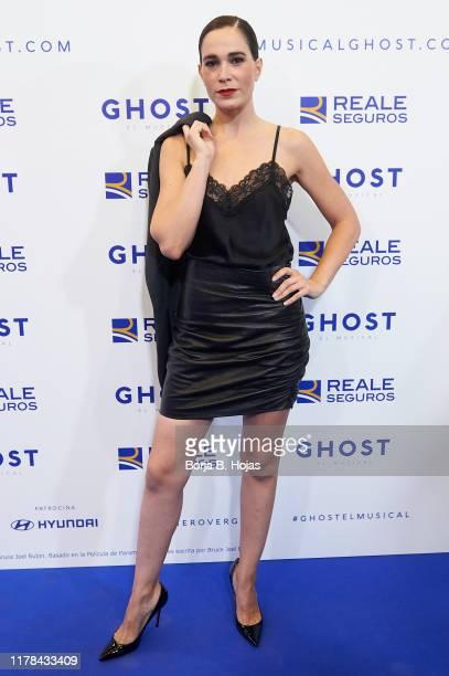 Celia Freijeiro attends the premiere of 'Ghost El Musical' on October 01 2019 in Madrid Spain
