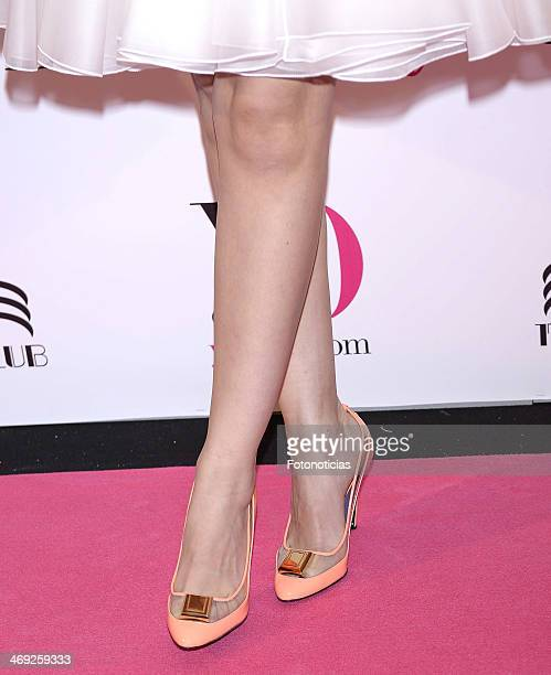 Celia Freijeiro attends 'Yo Dona' magazine party at Barcelo theater on February 13, 2014 in Madrid, Spain.