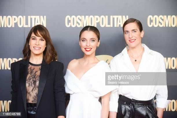 "Celia Freijeiro, Leticia Dolera and Aixa Villagrán attend ""Cosmopolitan Awards 2019"" on October 24, 2019 in Madrid, Spain."